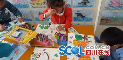 羊木绘画幼儿园开展庆六一小学活动比赛_广元固安县小学图片