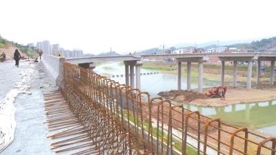 广陕广巴高速大石互通连接线全线主体工程七月完成