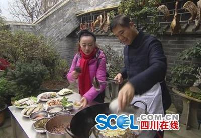 市长邹自景下厨做美食 推荐广元